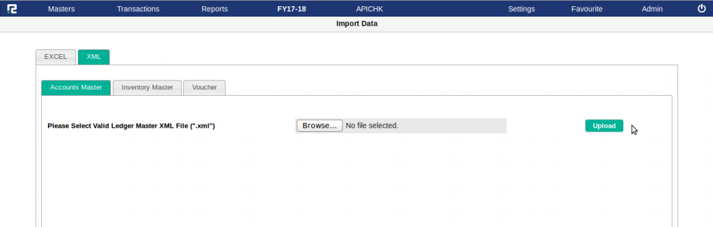 Importing Tally transactions into RealBooks – Help Centre